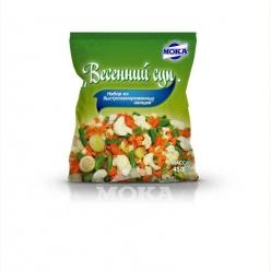 Весенний суп. Набор из быстрозамороженных овощей
