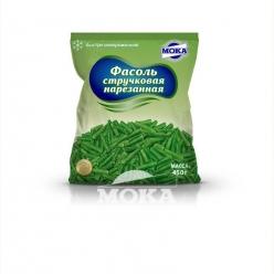 Фасоль стручковая зеленая нарезанная быстрозамороженная